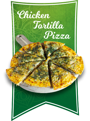 chicken tortilla pizza 2