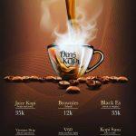Menu kopi - Warung Kelontong Grand Wisata